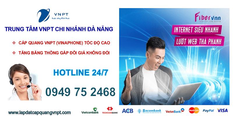 Lắp mạng cáp quang VNPT Đà Nẵng