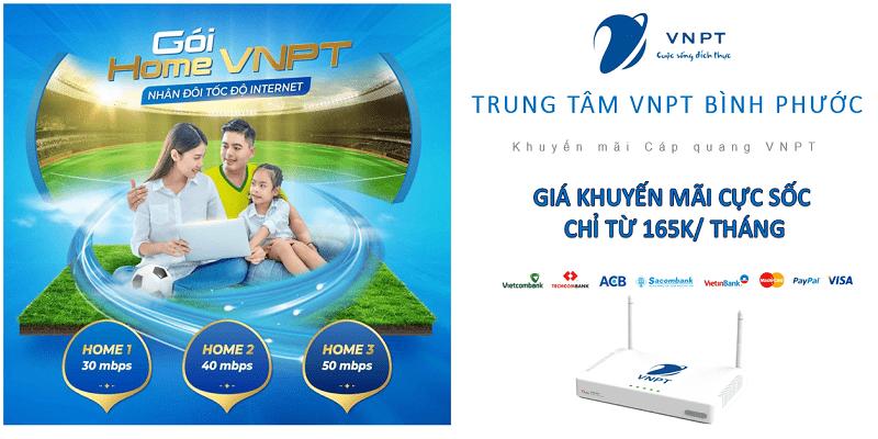 Lắp mạng cáp quang VNPT Bình Phước