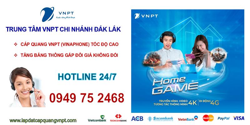 Lắp mạng cáp quang VNPT Đắk Lắk