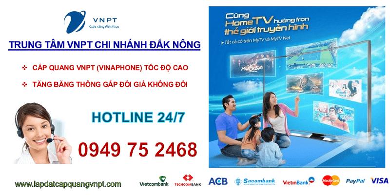 Lắp mạng cáp quang VNPT Đắk Nông