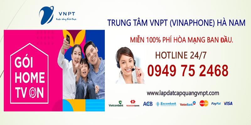 Lắp mạng cáp quang VNPT Hà Nam