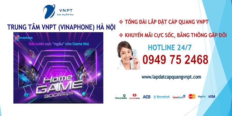 Lắp mạng cáp quang VNPT tại Hà Nội