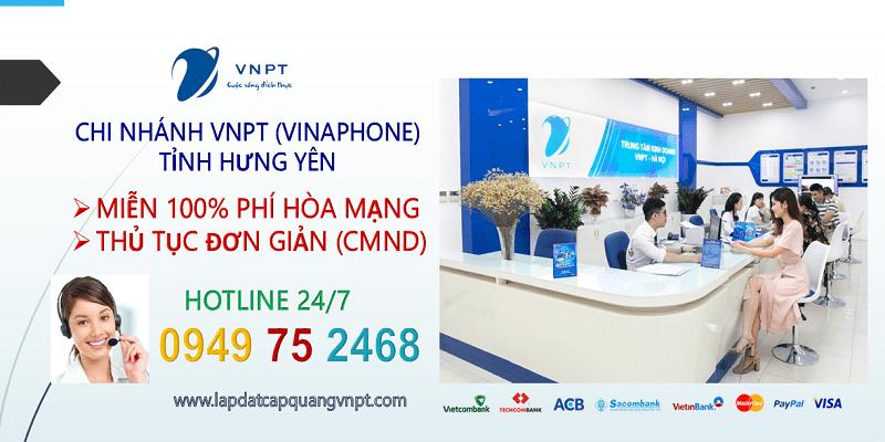 Lắp mạng cáp quang VNPT Hưng Yên