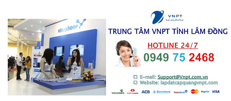 Lắp mạng cáp quang VNPT Lâm Đồng