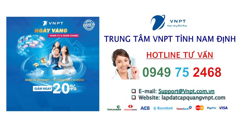 Lắp mạng cáp quang VNPT Nam Định