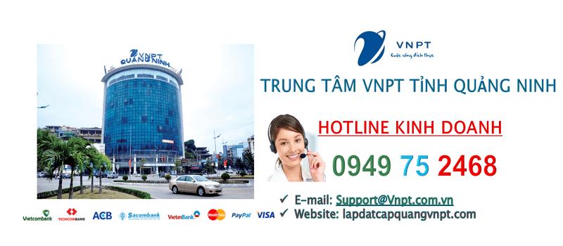 Lắp mạng cáp quang VNPT Quảng Ninh
