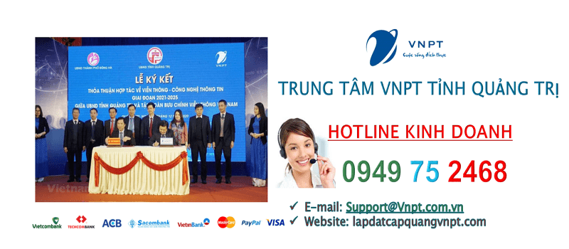 Lắp mạng cáp quang VNPT Quảng Trị