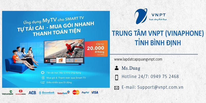 Lắp mạng cáp quang VNPT Bình Định