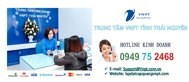 Lắp mạng cáp quang VNPT tỉnh Thái Nguyên