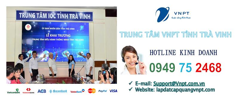 Lắp mạng cáp quang VNPT tỉnh Trà Vinh