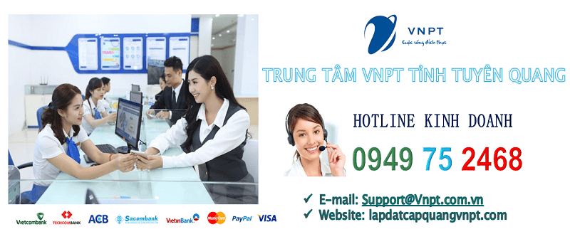 Lắp mạng cáp quang VNPT tỉnh Tuyên Quang