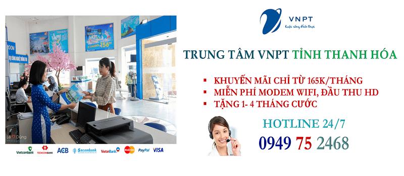 Lắp mạng cáp quang VNPT Thanh Hóa