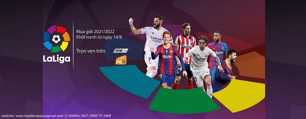Truyền hình VNPT kèm giải bóng đá đỉnh cao