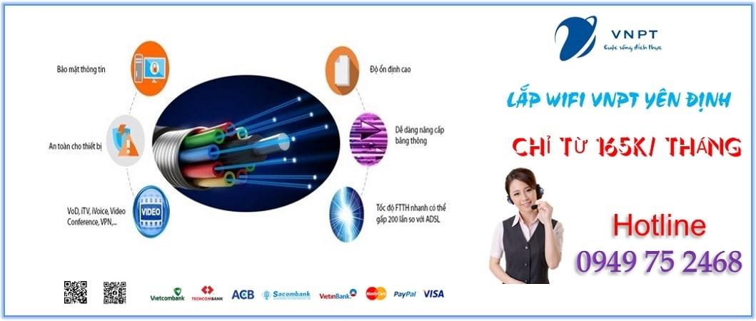 Lắp mạng VNPT Yên Định